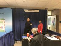 NWHSU Alumni Services booth at Homecoming
