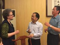 Northwestern Health Sciences University faculty members in China
