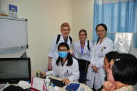 Northwestern Health Sciences University students in China