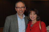 Northwestern Health Sciences University community members John and Nancy Healy