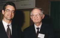 Northwestern Health Sciences University President Dr. John F. Allenburg and Dr. Stephen Bolles