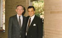 Northwestern Health Sciences University President Dr. John F. Allenburg and Lou Sportelli