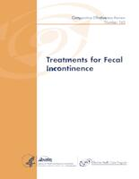 Treatments for Fecal Incontinence. Comparative Effectiveness Review No. 165