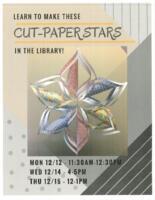 Cut-Paper Stars Flyer