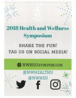 2018 Health and Wellness Symposium Flyer