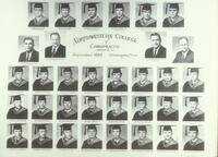 College of Chiropractic class of 1958