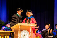 Northwestern Health Sciences University's new President Dr. Deb Bushway at her inauguration