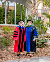 Northwestern Health Sciences University President Bushway and Dr. Mary Tuchscherer