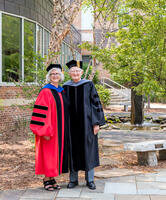Northwestern Health Sciences University Presidents Deb Bushway and John Allenburg