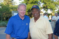 Northwestern Health Sciences University President Dr. Mark Zeigler and Tony Oliva