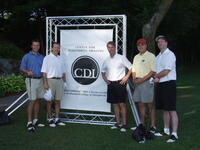 Participants at the 2007 golf tournament