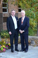 Northwestern Health Sciences University President Christopher Cassirer and Joseph Sweere