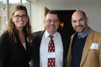 Northwestern Health Sciences University community members Emily Tweed, Mike Wiles and Dale Healey