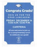 Congrats Grads! Flyer