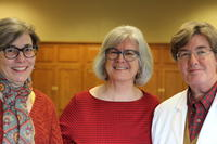 Northwestern Health Sciences University community members Anita Manne, Deb Bushway, and Mary Tuchscherer