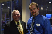 Northwestern Health Sciences University  community members Zach Zachman and Tony Kelm