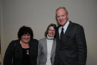 Glori Hinck, Linda Bowers, and President Mark Zeigler