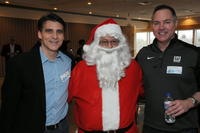 Northwestern Health Sciences University President Chris Cassirer and others at Christmas party