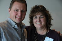 Northwestern Health Sciences University community members Kevin Wolpern and Nancy Johnson