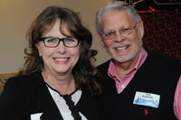 Northwestern Health Sciences University community members Debbie Peterson and Tom Bergmann