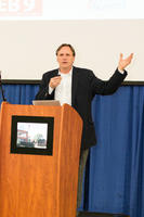 Minnesota Senator Jim Abeler speaking at Northwestern Health Sciences University