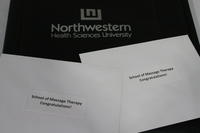 Northwestern Health Sciences University graduation items