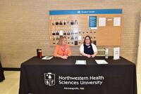 Northwestern Health Sciences University's new student orientation day
