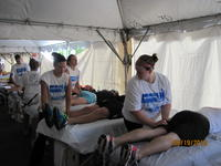 Massages at Grandma's Marathon