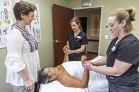 Northwestern Health Sciences University's School of Massage Therapy interns