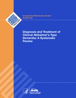 Diagnosis and treatment of clinical Alzheimer's-type dementia:  a systematic review