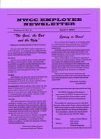 NWCC employee newsletter, Vol. 1, no.4, April 7, 1997