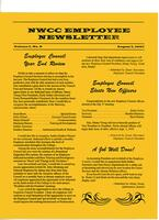 NWCC employee newsletter, Vol. 1, no.8, August 1, 1997