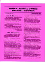 NWCC employee newsletter, Vol. 1, no.9, Sep. 9, 1997