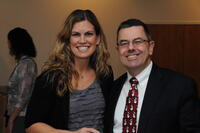 Northwestern Health Sciences University community members Emily Tweed and Mike Wiles