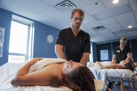 Northwestern Health Sciences University massage therapy class