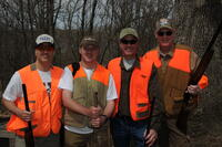 Alumni hunt and fish event
