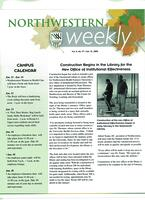 Northwestern weekly, Vol. 11, no. 17, Jan. 12, 2005