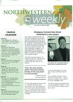 Northwestern weekly, Vol. 11, no. 27, March 23, 2005