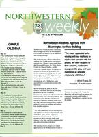 Northwestern weekly, Vol. 12, no. 29, May 17, 2006