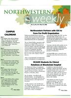 Northwestern weekly, Vol. 12, no. 30, May 24, 2006