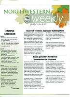 Northwestern weekly, Vol. 12, no. 34, June 21, 2006