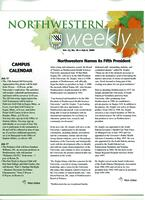 Northwestern weekly, Vol. 12, no. 36, July 6, 2006