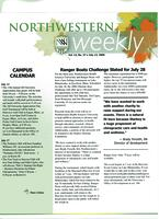 Northwestern weekly, Vol. 12, no. 37, July  12, 2006