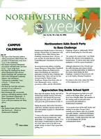 Northwestern weekly, Vol. 12, no. 38, Jul. 19, 2006