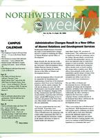Northwestern weekly, Vol. 13, no. 3, Sept. 20, 2006