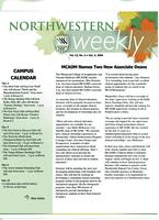 Northwestern weekly, Vol. 13, no. 5, Oct. 4, 2006