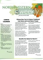 Northwestern weekly, Vol. 13, no. 19, Feb. 14, 2007