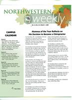 Northwestern weekly, Vol. 13, no. 22, March 7, 2007