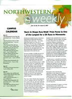 Northwestern weekly, Vol. 13, no. 31, June 13, 2007
