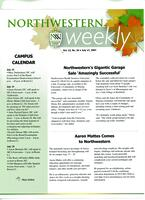 Northwestern weekly, Vol. 13, no. 36, July 17, 2007